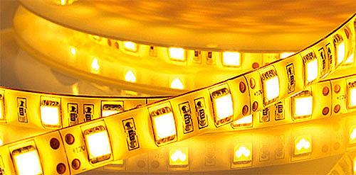 сколько потребляет светодиодная лента в зависимости от типа светодиода