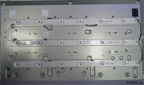 какие светодиоды используются в подсветке телевизора