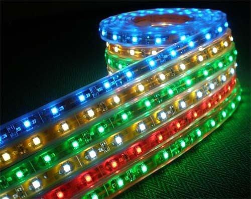 Подсветка светодиодной лентой