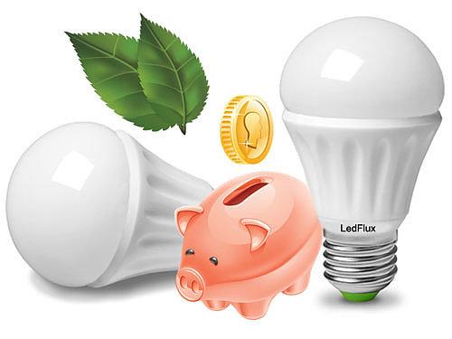 плюсы светодиодных ламп