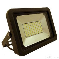 FL-LED Light-PAD   10W 6400К    850Лм   10Вт  AC195-240В 140x125x25мм   385г - Прожектор