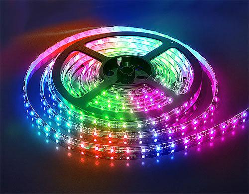 разноцветная led лента