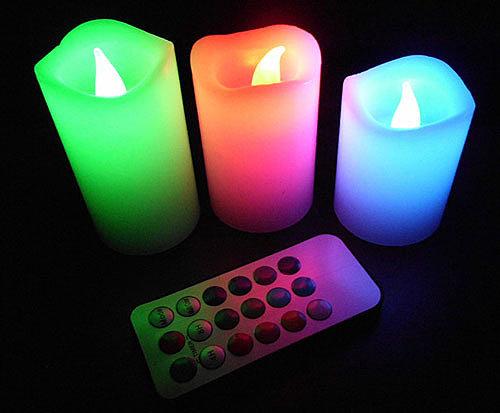 светодиодные (led) свечи