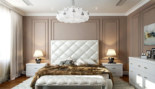 люстра в спальне