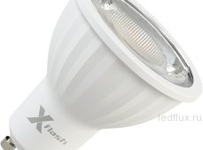 СД димм. лампа X-flash XF-MR16D-P-GU10-8W-4000K-220V