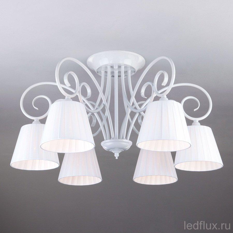 классическая люстра с абажурами 3036 купить в интернет магазине Ledflux